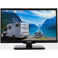 """FALCON 19"""" HD Travel TV with DVD, Freeview, Freesat, USB,, NO COLOUR"""