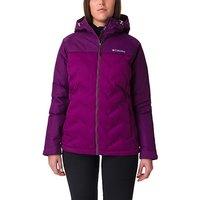 Columbia Women's Grand Trek Down Jacket, PURPLE/WMNS