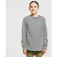 CRAGHOPPERS Kids' Rosana Crew Neck Fleece, NAVY WHITE/NECK