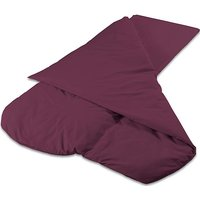 DUVALAY Compact Dual Season Sleeping Bag (Navy), PLUM