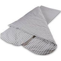 DUVALAY Compact Dual Season Sleeping Bag (Navy), LIGHT GREY