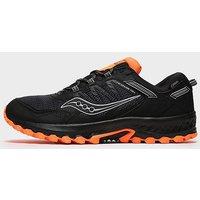 Saucony Men's EXCURSION TR13 GTX Trail Running Trainers, BLACK ORANGE/GTX