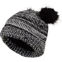 DARE 2B Kids' Hastily Bobble Hat, GREY/BEANIE
