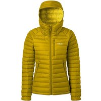 RAB Women's Microlight Alpine Down Jacket, YEL/YEL