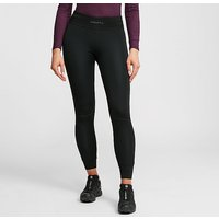 Craft Women's Active Intensity Baselayer Pants, BLK/BLK