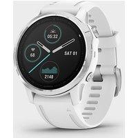 Garmin Fēnix 6S Multi Sport GPS Watch, WHT-WHT