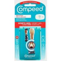 COMPEED Sports Heel Blister Plaster, Blue/5PK