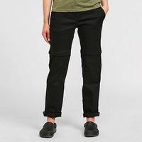 CRAGHOPPERS Womens Kiwi Pro Convertible Trousers (Regular), Black/BLK