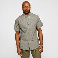 SHERPA Men's Arjun Short Sleeved T-Shirt, Dark grey/DGY