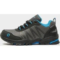 Cotswold Kids' Littledean Waterproof Walking Boots, GREY/BLU