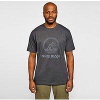 NORTH RIDGE Men's Static T-Shirt, Black/BLK