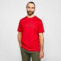 NORTH RIDGE Men's Range T-Shirt, Red/RED
