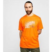 NORTH RIDGE Men's Mamtor T-Shirt, Orange/ORG