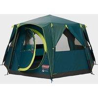 COLEMAN Octagon Blackout Tent, Green-GRN