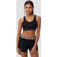 Bij het hardlopen is de juiste ondersteuning onmisbaar: met de zwarte ultimate run sportbeha van ...