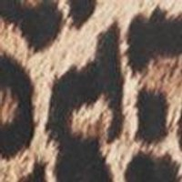 Leopard Print Tassel Trim Playsuit