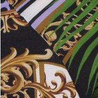 Olivia Palm Chain Print Bomber
