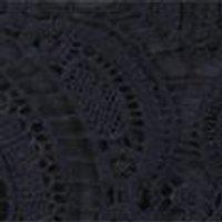 Jas Tassel Trim Crochet Lace Shift Dress