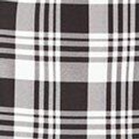 Sara Tartan Check A Line Mini Skirt
