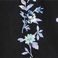 Louisa Floral Scarf Print Wide Strap Cami
