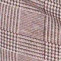 Isla Mono Check Zip Detail Mini Skirt