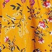 Fiona Floral Ruffle Detail Wrap Dress