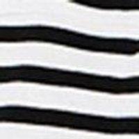 Girls Stripe Flower Embroidery Swing Top