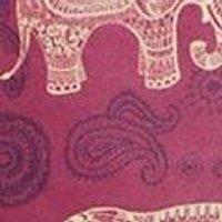 Elephant Tribal Print Mid Co-Ord Jersey Short Shorts