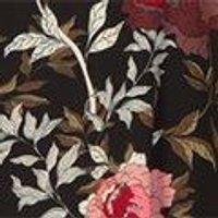 Petite Tilly Keyhole Detail Floral Skater Dress