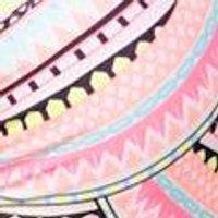 Oahu Neon Aztec Strappy Back Underwire Bikini