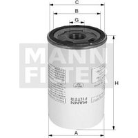 MANN-FILTER - Filter, compressed air system