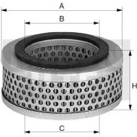 MANN-FILTER - Air Filter, compressor intake