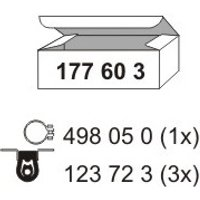 ERNST - Mounting Kit, silencer