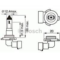 BOSCH - Bulb, fog light