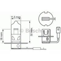 BOSCH - Bulb, headlight