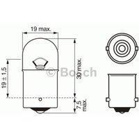 BOSCH - Bulb, licence plate light