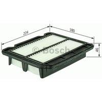 BOSCH - Filtre à air (F 026 400 043)