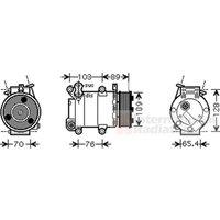 VAN WEZEL - Compressor, air conditioning