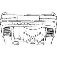 VAN WEZEL - Body Floor, boot-/cargo area