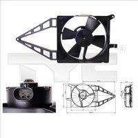 TYC - Fan, radiator