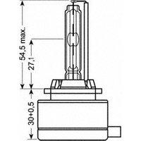 OSRAMXENARC ORIGINAL, Ampoule, Projecteur antibrouillard