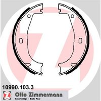 ZIMMERMANN - Brake Shoe Set, parking brake