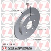 ZIMMERMANN - Brake Disc (Set)