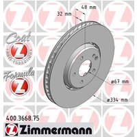 ZIMMERMANN - Brake Disc
