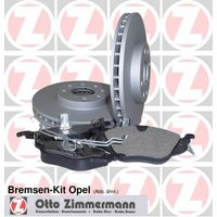 ZIMMERMANN - Brake Set, disc brakes