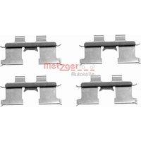 METZGER - Accessory Kit, disc brake pads