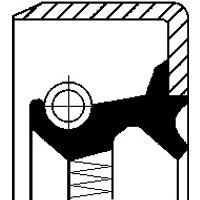 CORTECO - Shaft Seal, wheel hub