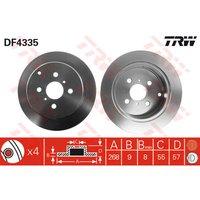 TRW - Brake Disc (Set)