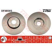 TRW - Brake Disc