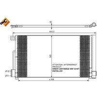 NRF - Condenser, air conditioning